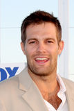 Geoff Stults. LOS ANGELES - AUG 5:  Geoff Stults arriving at the FOX TCA Summer 2011 Party at Gladstones on August 5, 2011 in Santa Monica, CA Royalty Free Stock Photos