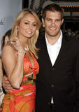 Geoff Stults and Stacy Keibler Stock Photography
