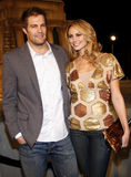 Geoff Stults and Stacy Keibler Royalty Free Stock Image