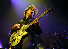 Geoff Tyson. During his performance in Prague, March 25, 2010 Stock Photos