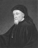 Geoffrey Chaucer Royalty-vrije Stock Fotografie