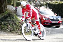 Geoffrey Soupe Rider Cycling France Royalty Free Stock Images