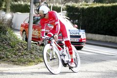 Geoffrey Soupe Rider Cycling France Stock Photos