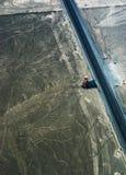 Geoglyphs и линии в пустыне Nazca Стоковое Фото