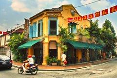 Geograaf Cafe Stock Foto's