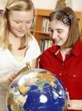 Geografía de la High School secundaria Fotografía de archivo libre de regalías