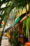 Geograf Cafe Royaltyfri Fotografi
