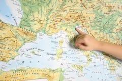 geografia Obrazy Royalty Free