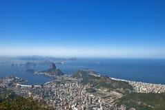 Geografia de Rio de Janeiro Foto de Stock