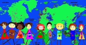 geografiförälskelselopp Royaltyfri Bild
