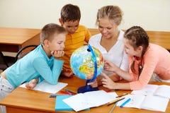 geografii lekcja Fotografia Stock