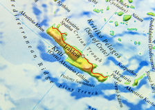 Geografisk översikt av den Grekland för europeiskt land ön Cypern royaltyfria bilder