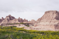 Geographic Differences | Badlands National Park, South Dakota, USA royalty free stock photography