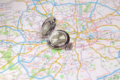 Geographical map Royalty Free Stock Image