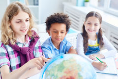 Geographical studies Stock Photography