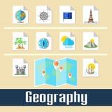 geographie lizenzfreie abbildung