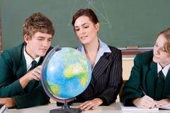 Geographiekategorie Lizenzfreie Stockfotos