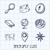 Geography class. Design, vector illustration eps10 graphic Stock Photos