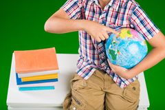 Geography class Stock Photo