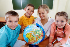 Geography studies Royalty Free Stock Photos
