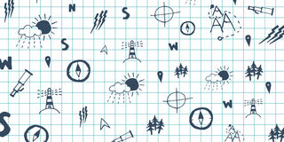 Geography subject. Back to School background. Education banner. Royalty Free Stock Image