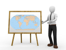 Geography teacher Royalty Free Stock Image
