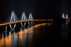 Geoje-Brücke lizenzfreies stockfoto