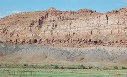 Geología del borde de la carretera de Arizona Imágenes de archivo libres de regalías