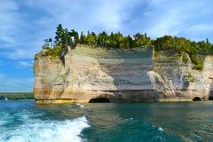 Geología del lago Superior Imagen de archivo libre de regalías
