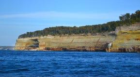 Geología del lago Superior Imagen de archivo