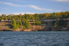 Geología del lago Superior Fotografía de archivo libre de regalías