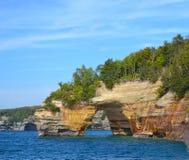 Geología del lago Superior Imágenes de archivo libres de regalías
