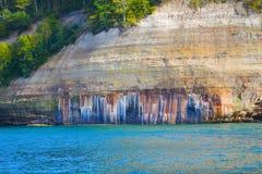Geología del lago Superior Foto de archivo libre de regalías