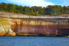 Geología del lago Superior Imagenes de archivo