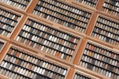 Geología - diversidad del suelo Imagen de archivo