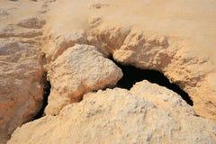 Geología Ras Mohammed Fotografía de archivo libre de regalías