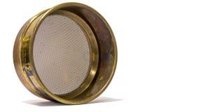 Geologe-Brass-Filter lizenzfreies stockbild