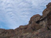 Geologia áspera fotografia de stock royalty free