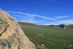 Geologia dei lupi del vento Fotografie Stock