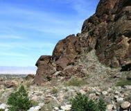 Geologia del canyon di Tahquitz Fotografia Stock Libera da Diritti