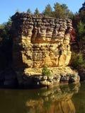 Geologia del Wisconsin Fotografie Stock