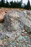 Geologia della roccia Immagine Stock