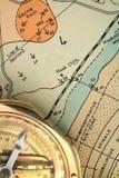 Geologia - traçando 2 Fotografia de Stock