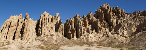 Geologial Shapes, wind erosion Royalty Free Stock Image