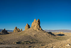 Geologic Desert Rock Formations Stock Photography