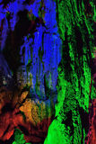 Geologic feature of YuHua Cave, Fujian, China Stock Images