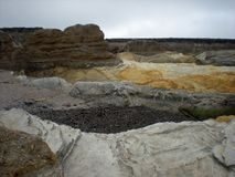 Geologic Formations. At Montana de Oro State Park, Los Osos, California Stock Photo