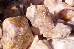Geologic minerals of South Dakota Royalty Free Stock Image