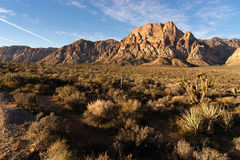 Geologic Rock Formations Red Rock Canyon Las Vegas USA Stock Photos