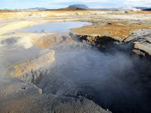 Geologic scenery in Iceland Stock Image